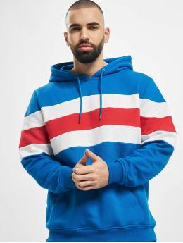 Urban Classics Mikiny Chest Striped modrá