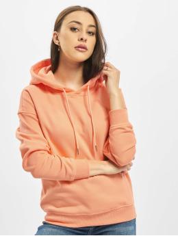 Urban Classics Mikiny Ladies  oranžová