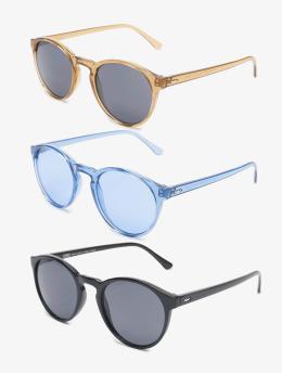 Urban Classics Okulary Sunglasses Cypress 3-Pack kolorowy
