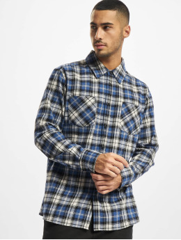 Urban Classics overhemd Checked Rootst blauw