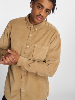Urban Classics overhemd Classics bruin