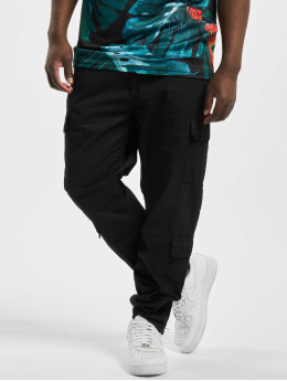 Urban Classics Pantalon cargo Tapered Double noir