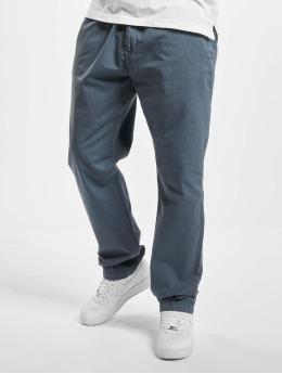 Urban Classics Pantalon chino Straight Leg bleu