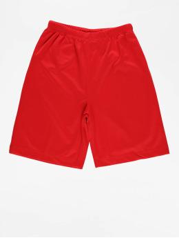 Urban Classics Pantalón cortos Kids Bball Mesh rojo