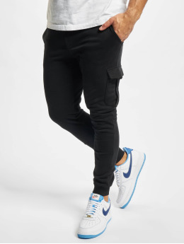 Urban Classics Pantalón deportivo Fitted negro
