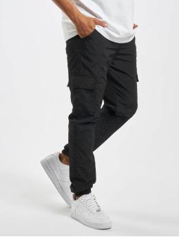 Urban Classics Pantalone Cargo Cargo Nylon nero