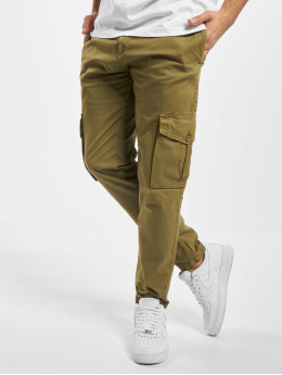 Urban Classics Pantalone Cargo Tapered  oliva