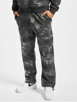 Urban Classics Pantalone ginnico Tye Dyed nero