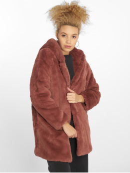 Urban Classics Parka Hooded Teddy rose
