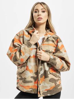 Urban Classics Parkatakki Ladies Oversized Camo camouflage