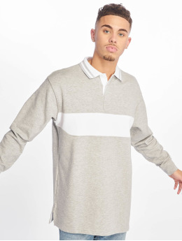 Urban Classics Poloshirt Rugby Panel gray