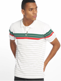 Urban Classics Poloskjorter Classic Stripe  hvit