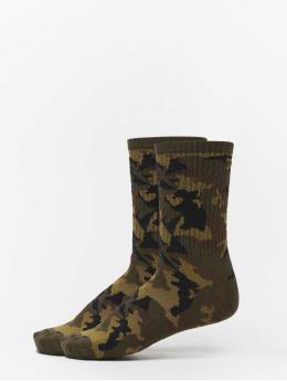 Urban Classics Ponožky 2-Pack Camo maskáèová