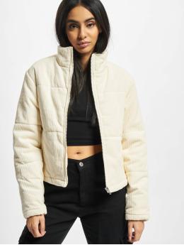 Urban Classics Puffer Jacket Ladies Corduroy beige