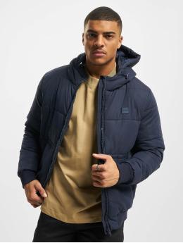 Urban Classics Puffer Jacket Hooded Peach blue