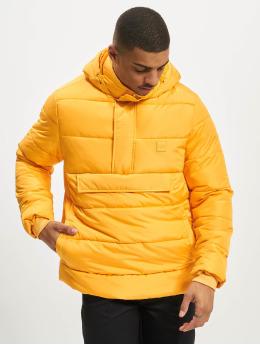 Urban Classics Puffer Jacket Pull Over orange