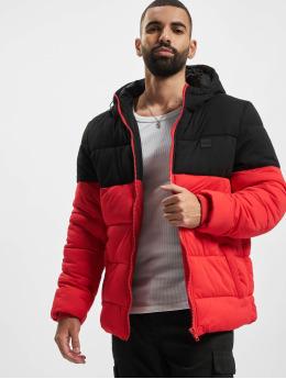 Urban Classics Puffer Jacket Hooded 2-Tone red