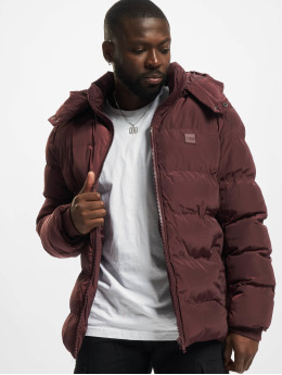 Urban Classics Puffer Jacket Hooded  red