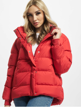 Urban Classics Puffer Jacket Ladies  red