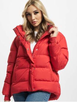 Urban Classics Puffer Jacket Ladies  rot