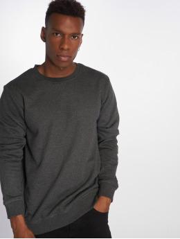 Urban Classics Pullover Basic Terry grau
