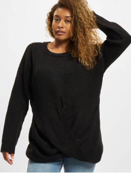 Urban Classics Pullover Wrapped schwarz