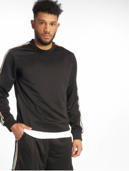 Urban Classics Pullover Sleeve Taped schwarz