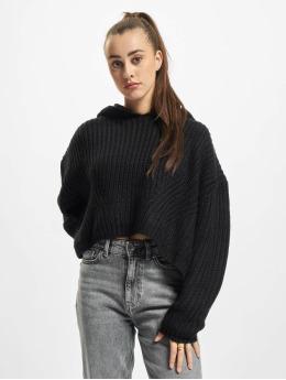 Urban Classics Pulóvre Ladies Oversized  èierna