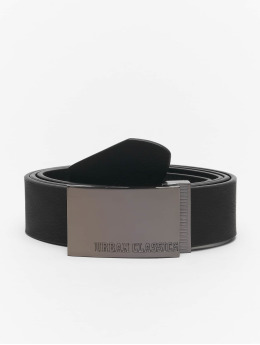 Urban Classics riem Imitation Leather Business zwart