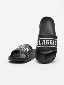 Urban Classics Sandalen UC Slides schwarz