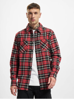 Urban Classics Shirt Checked Roots red
