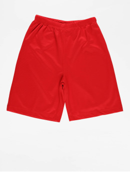 Urban Classics Short Kids Bball Mesh red