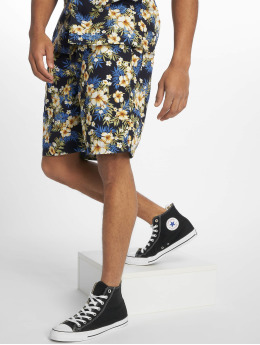 Urban Classics Shorts Pattern Resort blau