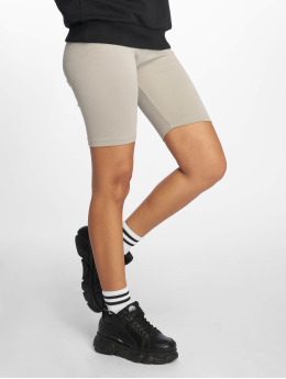 Urban Classics Shorts High Waist Cycle grau