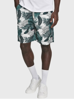 Urban Classics shorts Pattern Resort groen