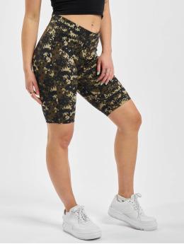 Urban Classics Shorts Ladies High Waist Camo Tech Cycle  kamouflage