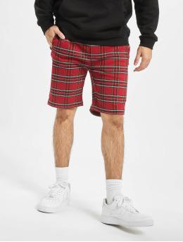Urban Classics Shorts Checker  rød