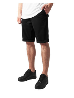 Urban Classics Shorts Stretch Turnup schwarz