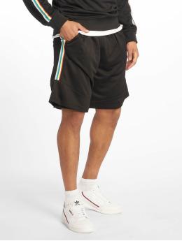 Urban Classics shorts Side Taped Mesh zwart