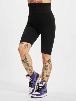 Urban Classics shorts High Waist Cycle zwart