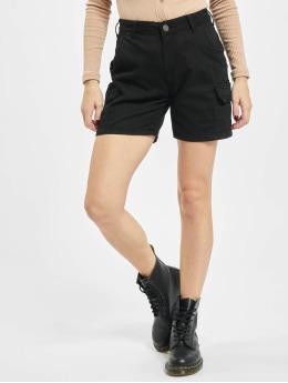 Urban Classics shorts High Waist Cargo zwart