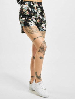 Urban Classics shorts Ladies Aop Viscose Resort zwart