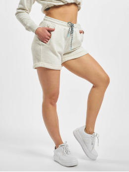 Urban Classics Shortsit Ladies Beach Terry harmaa