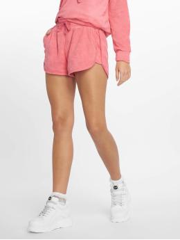 Urban Classics Shortsit Towel vaaleanpunainen