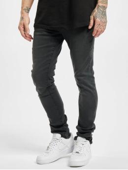 Urban Classics Slim Fit Jeans Slim Fit Zip  èierna