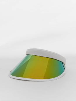 Urban Classics Snapback Cap Holographic Visor weiß
