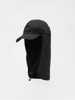 Urban Classics Snapback Caps With Sun Protection svart