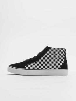Urban Classics Sneaker Printed High Canvas nero