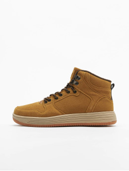 Urban Classics Sneakers High Top brazowy