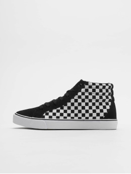 Urban Classics Sneakers Printed High Canvas svart